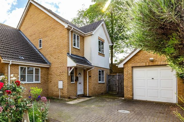 Thumbnail Detached house for sale in Roberts Close, Eaton Socon, St Neots, Cambridgeshire