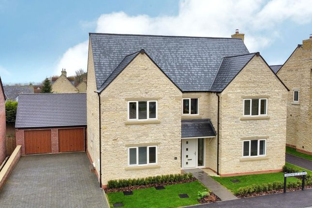 Thumbnail Detached house for sale in Greenfield Close, Waltham On The Wolds, Melton Mowbray
