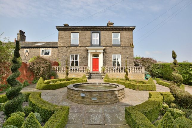 Thumbnail Detached house for sale in Stone Hall, Moorside Road, Bradford, West Yorkshire