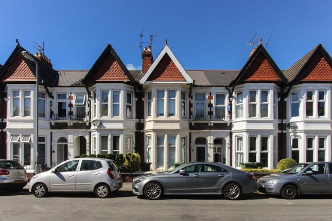 Thumbnail Terraced house to rent in Heathfield Road, Heath, Cardiff