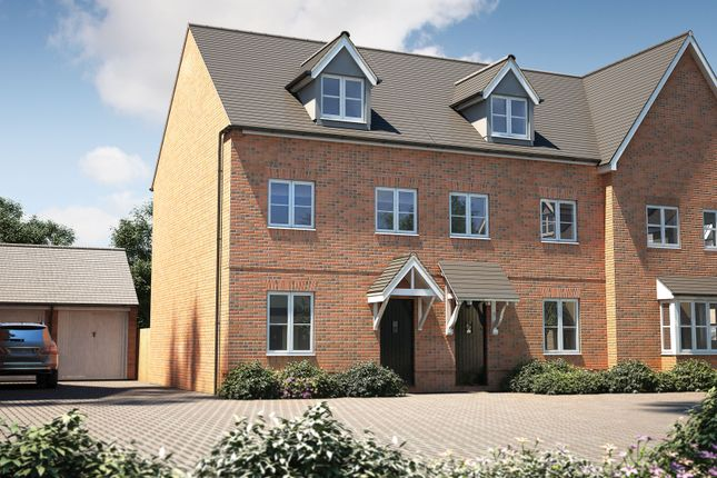 "Thumbnail Semi-detached house for sale in ""The Chastleton"" at Bishopsfield Road, Fareham"