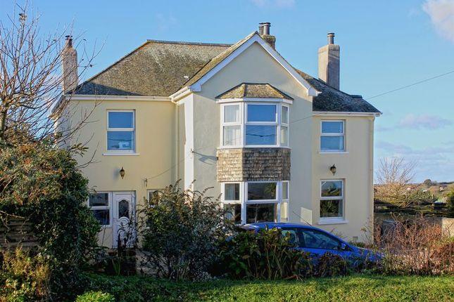 Thumbnail Detached house for sale in Gerrans, Portscatho, Truro