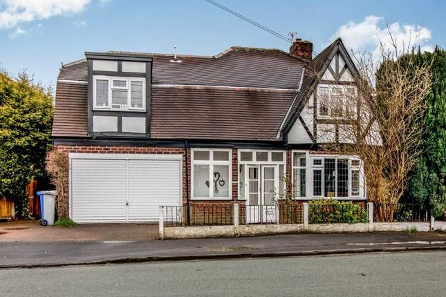 Thumbnail Detached house for sale in Cumberland Road, Sale
