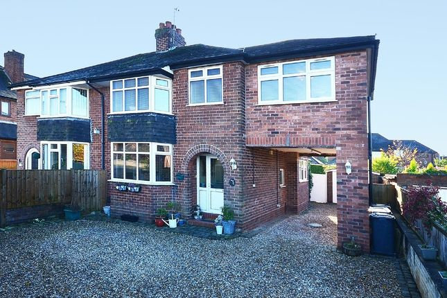 4 bed semi-detached house for sale in Heath Avenue, May Bank, Newcastle