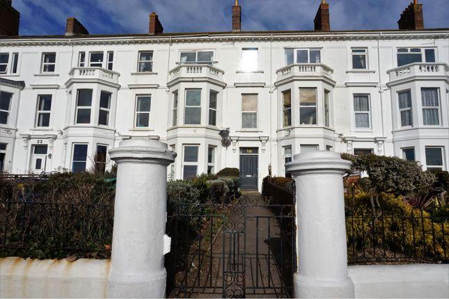 Main Residence of 18 Alexandra Terrace, Exmouth EX8
