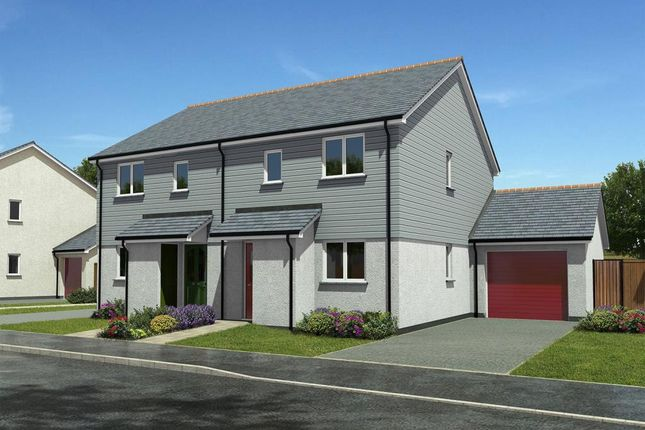 Thumbnail Semi-detached house for sale in The Maples, 64 Gwel Kann, Trevelyan Road, Illogan