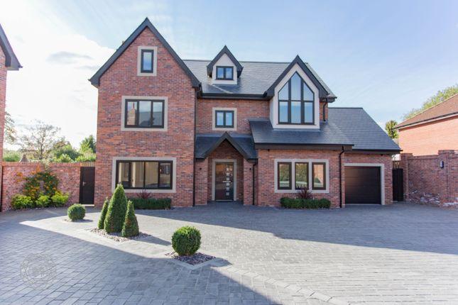 Thumbnail Detached house for sale in Hob Hey Lane, Culcheth, Warrington