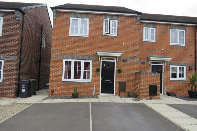 Thumbnail Semi-detached house for sale in Cecil Court, Hartlepool