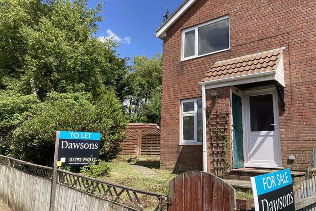 Thumbnail Semi-detached house for sale in Bronwydd, Birchgrove, Swansea