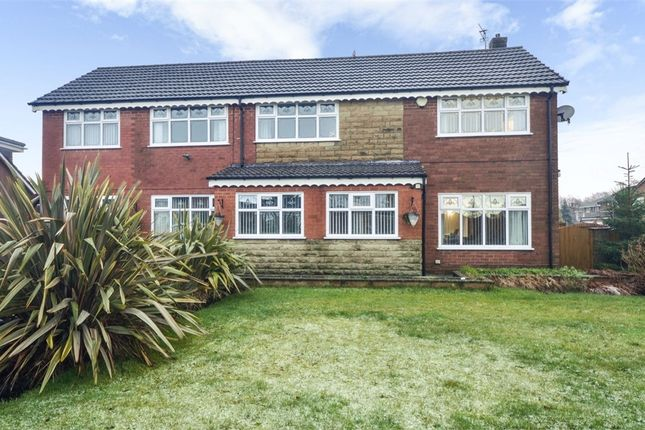 Thumbnail Detached house for sale in Evesham Close, Middleton, Manchester, Lancashire