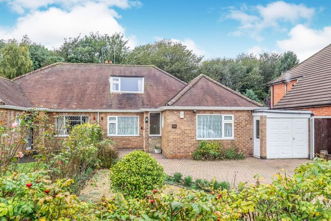 Thumbnail 4 bed detached bungalow for sale in Scott Road, Solihull