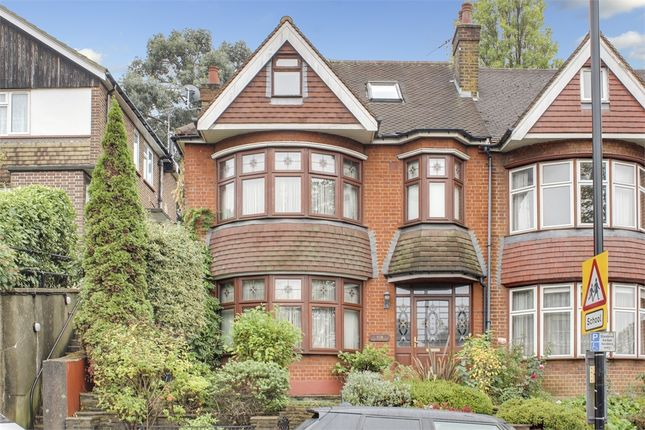 Thumbnail End terrace house for sale in Alexandra Park Road, Alexandra Park, London