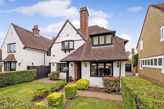 Thumbnail Detached house for sale in Heath Drive, Gidea Park, Romford