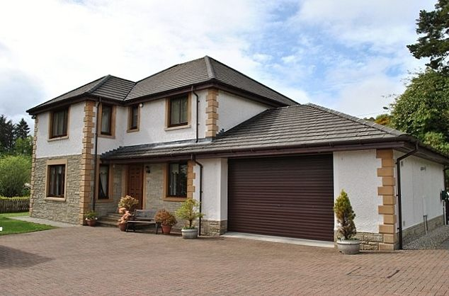 Thumbnail Detached house for sale in 12 Crochan Road, Dunoon, Argyll And Bute