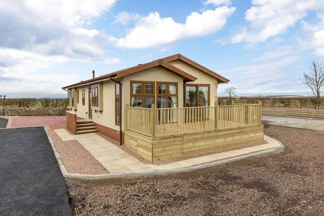 Thumbnail Mobile/park home for sale in 2 Cedar, Monks Muir Park, Haddington