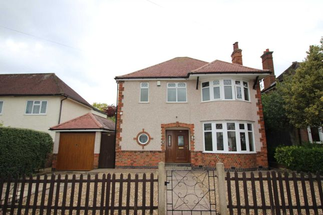 Thumbnail Detached house for sale in Abbots Road South, Off Scraptoft Lane, Humberstone