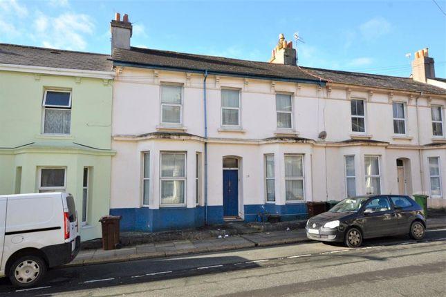 Thumbnail Terraced house for sale in Sydney Street, Plymouth, Devon