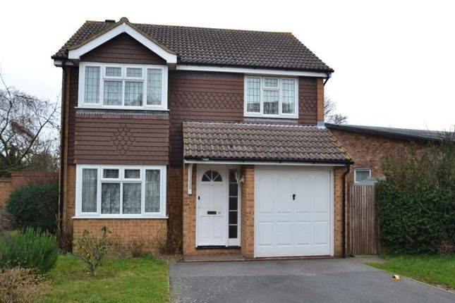 Thumbnail Detached house to rent in Keefe Close, Blue Bell Hill, Chatham