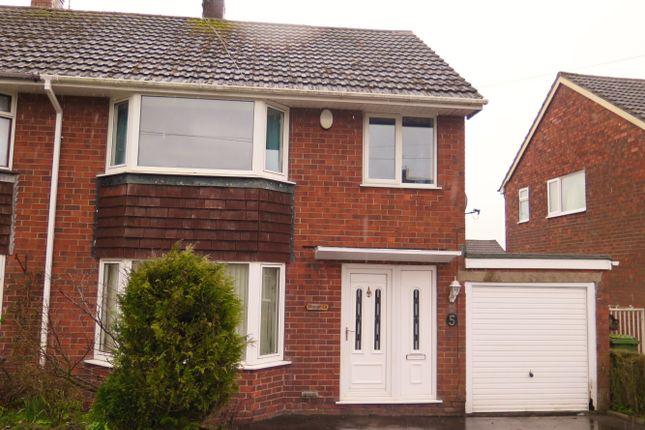 Semi-detached house for sale in Fernlea Grove, Meir Heath, Stoke-On-Trent