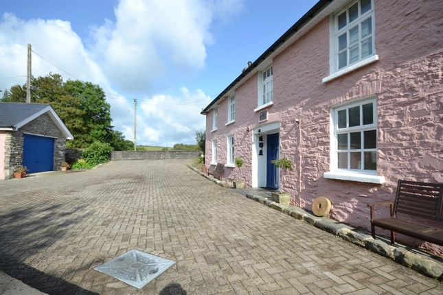 Thumbnail Detached house for sale in Llanllwni, Llanybydder