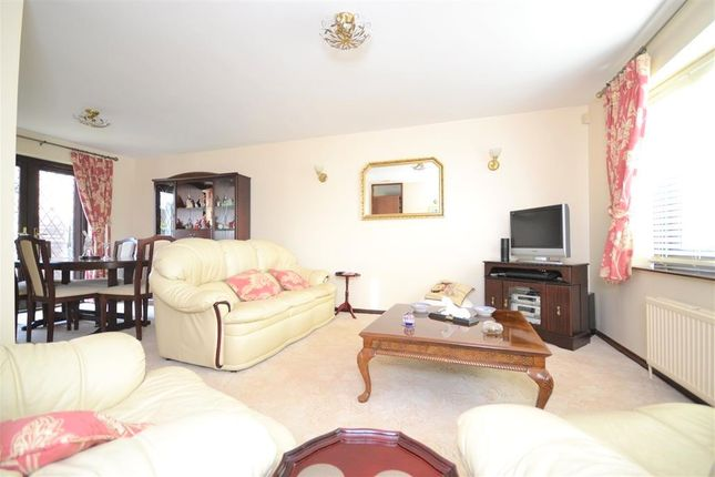 Thumbnail Detached bungalow for sale in Brampton Close, Barton Seagrave, Kettering