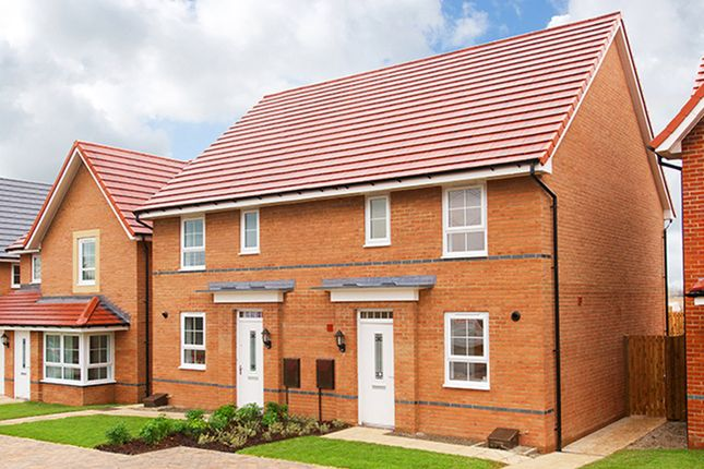 "Thumbnail Terraced house for sale in ""Barwick"" at Green Lane, Yarm"