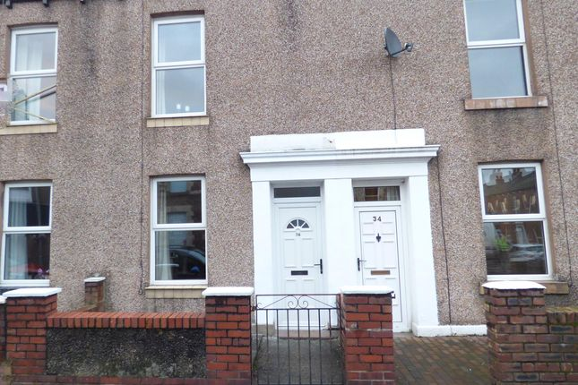 Thumbnail Terraced house for sale in Nelson Street, Carlisle