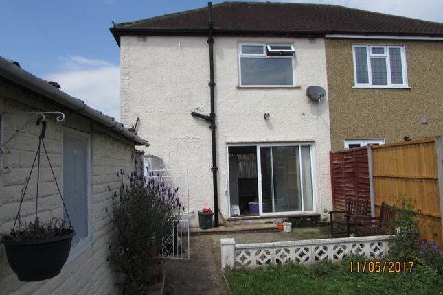 Thumbnail Semi-detached house to rent in Park Field Crescent, Ruislip