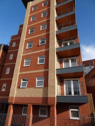 Thumbnail Flat to rent in Calais Hill, Leicester