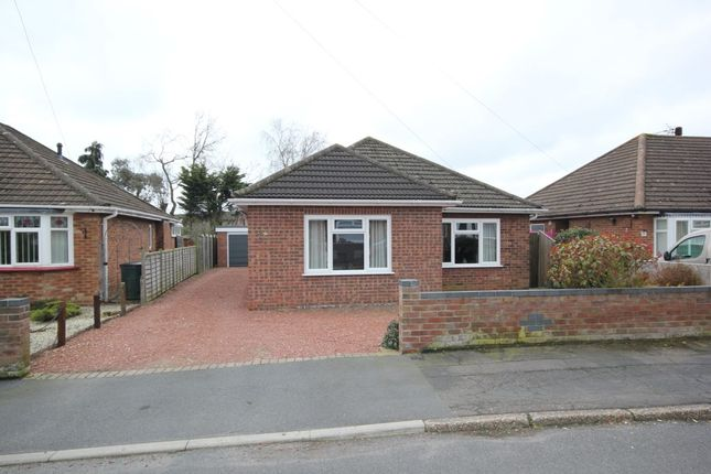 Thumbnail Bungalow for sale in Linton Crescent, Sprowston, Norwich