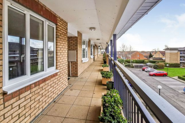 Balcony of Minster Court, Bracebridge Heath, Lincoln LN4