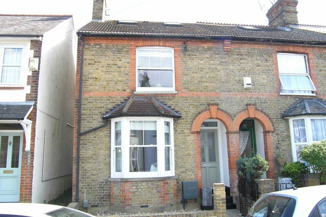 Thumbnail End terrace house for sale in Rudolph Road, Bushey