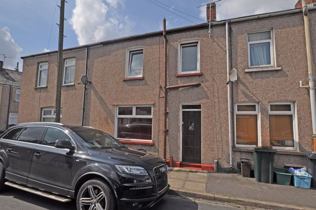Thumbnail Terraced house for sale in Attractive Terrace, East Usk Road, Newport