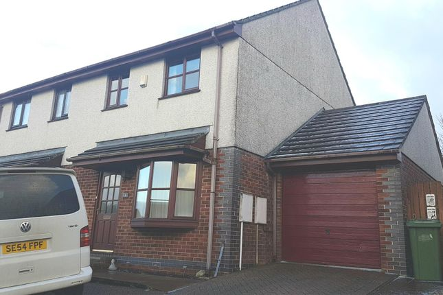 3 bed semi-detached house to rent in Elm Drive, St. Columb