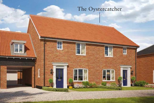 Thumbnail Semi-detached house for sale in Church Hill, Saxmundham, Suffolk