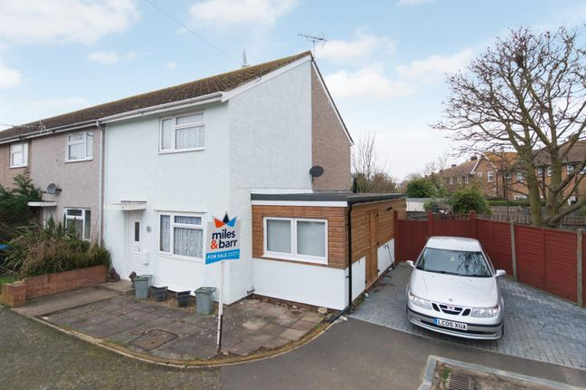 Thumbnail Semi-detached house for sale in Powell Cotton Drive, Birchington