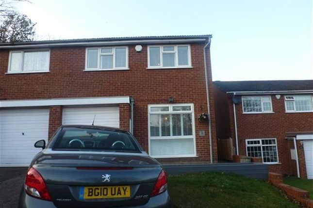 Thumbnail Property to rent in St Nicholas Walk, Curdworth, Sutton Coldfield