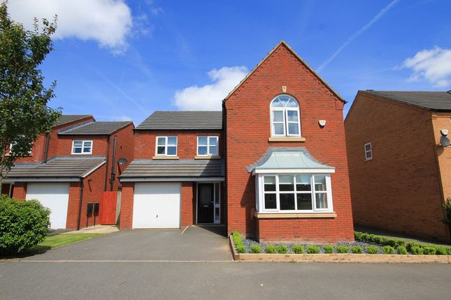 Thumbnail Detached house for sale in Steetley Drive, St Helens
