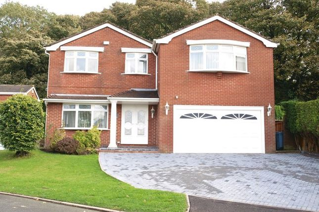 Thumbnail Detached house for sale in Woodlands, 6 Beck Grove, Shaw, Oldham