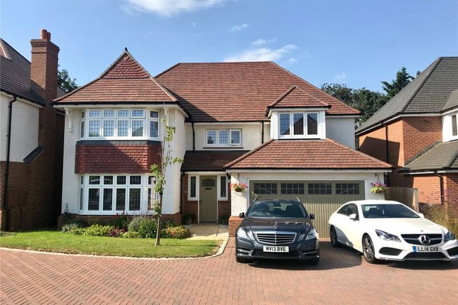 Thumbnail Detached house for sale in Lodge Park Drive, Evesham, Worcestershire