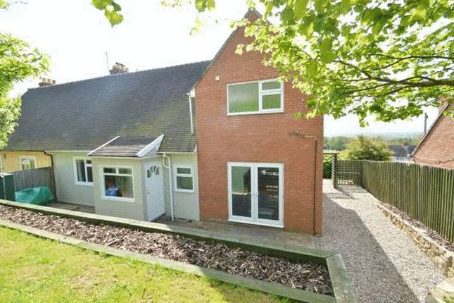 Thumbnail Semi-detached house for sale in Bronwylfa, Llanymynech