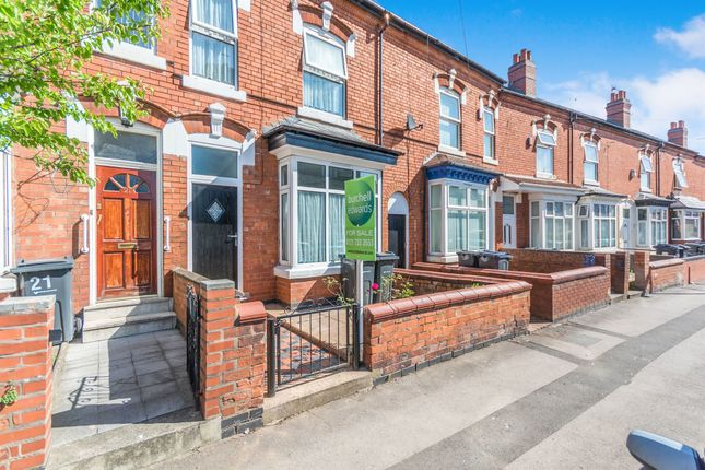 Thumbnail Terraced house for sale in Evelyn Road, Sparkhill, Birmingham