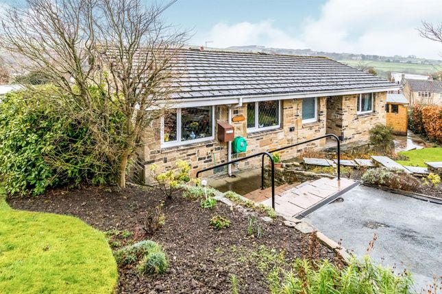 Thumbnail Detached bungalow for sale in Town End Road, Holmfirth