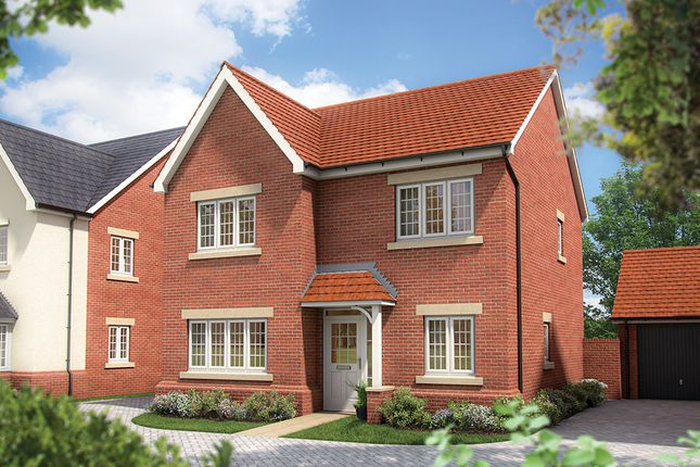 """Thumbnail Detached house for sale in """"The Aspen"""" at St. James Way, Biddenham, Bedford"""