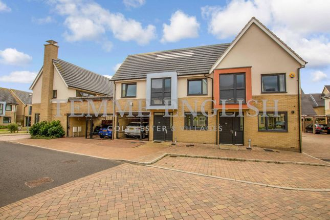 Thumbnail Terraced house for sale in Endeavour Way, Colchester