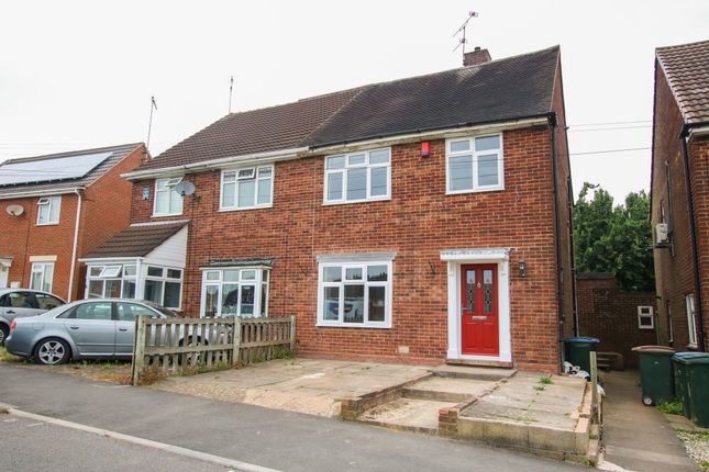 Thumbnail Semi-detached house to rent in Ridgley Road, Coventry