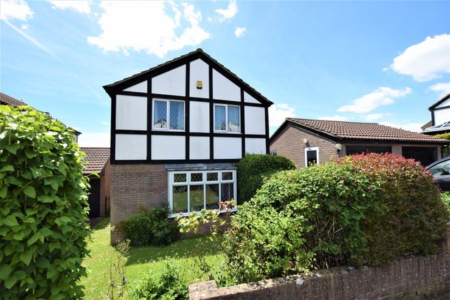 Thumbnail Detached house for sale in Usk Way, Barry