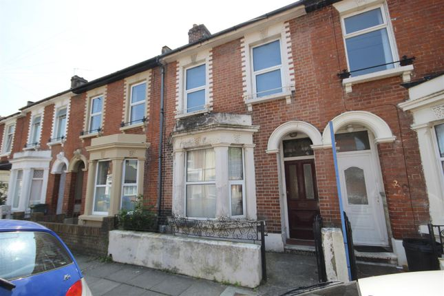 Thumbnail Terraced house to rent in Pains Road, Southsea