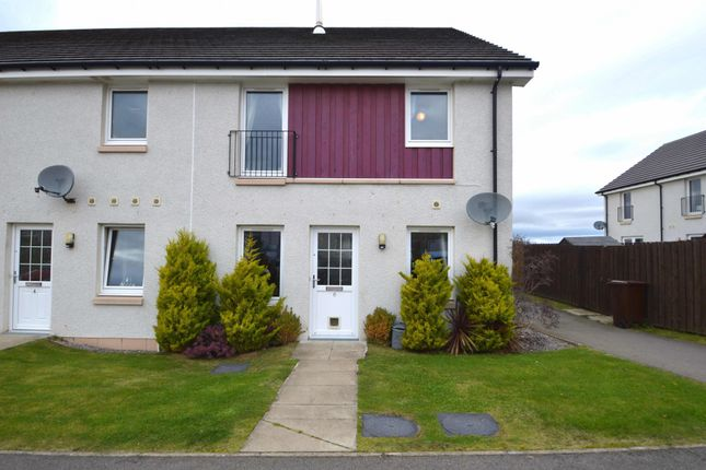 Thumbnail Terraced house for sale in Larchwood Drive, Inverness, Inverness-Shire