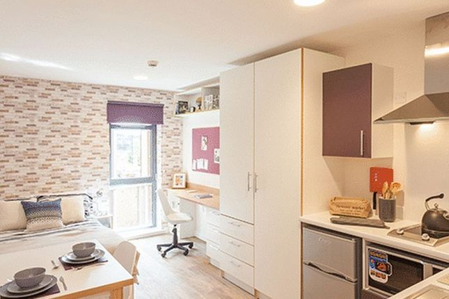 Thumbnail Property to rent in Studio Apartment, Clavering Place, Newcastle Upon Tyne